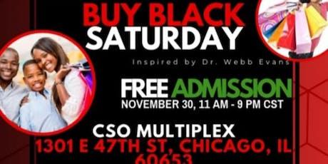 BUY BLACK SATURDAY  CHICAGO BLACK BAZAAR  tickets