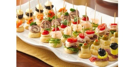 Appetizers and Hors d oeuvres (2019-11-10 starts at 10:00 AM)