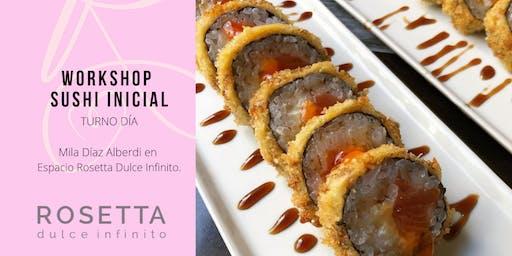 Workshop Sushi Inicial  - TURNO DÍA