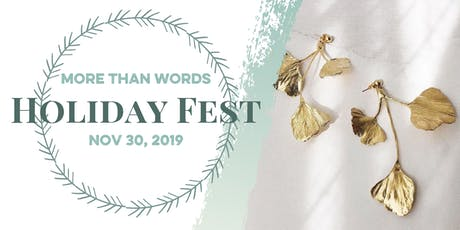 More Than Words Holiday Fest tickets