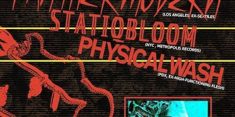 Vantablack Presents: Panther Modern/Statiqbloom/Physical Wash tickets