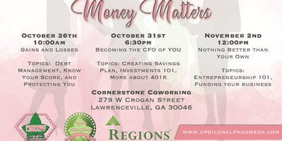 2019 Join Us For A Conversation About Money Matters