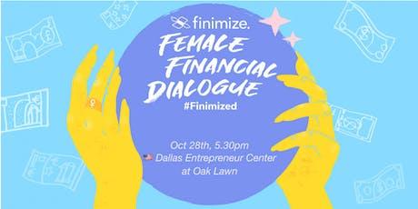 Female Financial Dialogue #Finimized, Dallas tickets