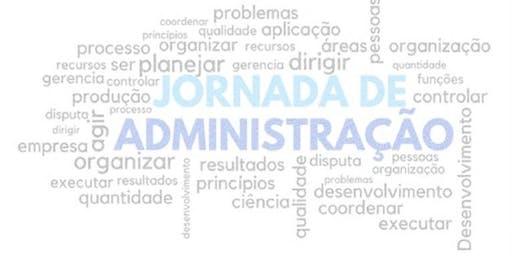 V Jornada de Administração UNIP – Campus Marquês - 23/10 - Noturno