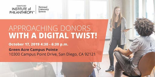 Approaching Donors with a Digital Twist!