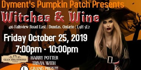 Witches and Wine tickets