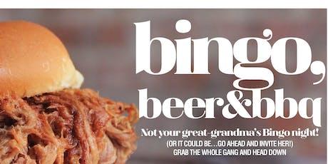 Bingo, Beer & BBQ tickets