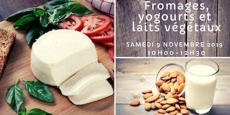 Fromages, yogourts et laits végétaux billets