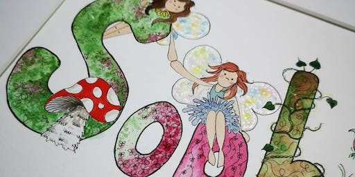 Illustrated Letters - Drawing & Watercolour For be