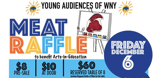 Young Audiences of WNY - Meat Raffle 2019