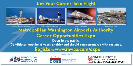 DC Airports Career and Business Opportunities Expo