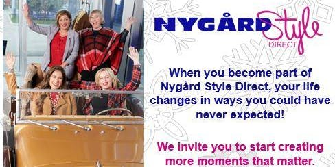 OCTOBER 26 - Toronto - WINTER Fashion Reveal -NYGÅRD Style Direct