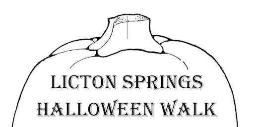Licton Springs Halloween Walk