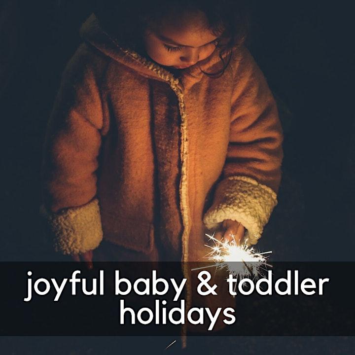 Joyful Baby & Toddler Holidays image