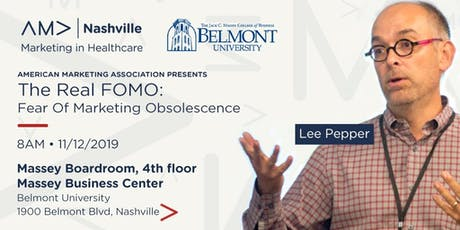 The Real FOMO: Fear Of Marketing Obsolescence tickets