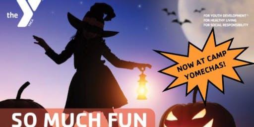 Middleboro YMCA Halloween Spooktacular @ Camp Yomechas
