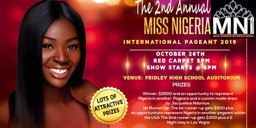 2nd Annual Miss Nigeria International Pageant 2019