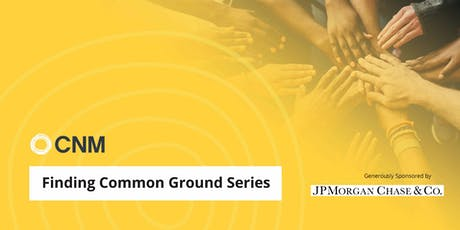 Finding Common Ground Series - Session 3 tickets