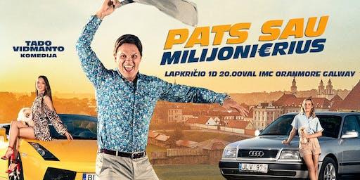 """Filmas """"Pats sau milijonierius"""" Galway"""
