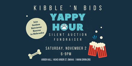 GRRIN's Kibble 'n Bids Yappy Hour & Silent Auction Fundraiser 2019 tickets