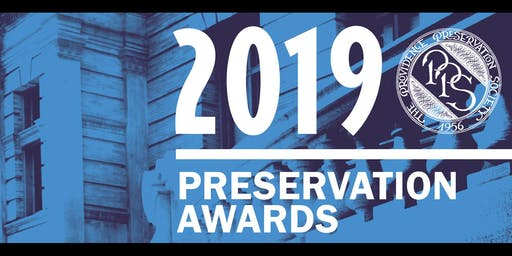 2019 PPS Preservation Awards