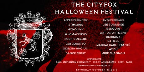 The Cityfox Halloween Festival tickets