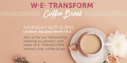 W.E. Transform - Networking Event