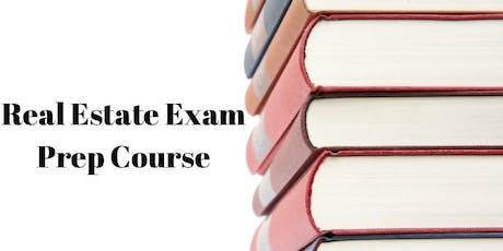 Real Estate Exam Prep Class tickets