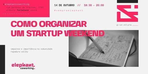 Como organizar um Startup Weekend