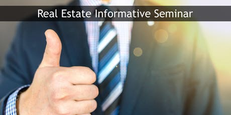 Real Estate Career - Seminar tickets