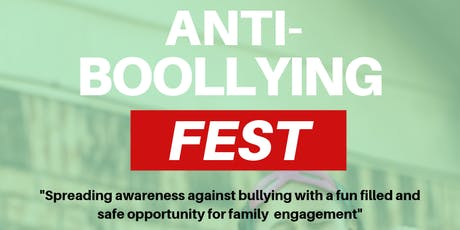 TCP: Anti-Booolying Fest tickets