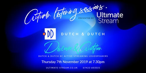 Autumn Listening Sessions with Dutch & Dutch active loudspeakers