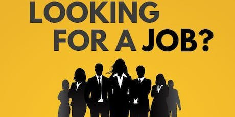 Looking For a Job with Emma Hickey of Osborne Recruitment tickets