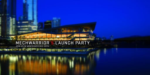 MechWarrior 5 Launch Party and Piranha Games 20th Anniversary!