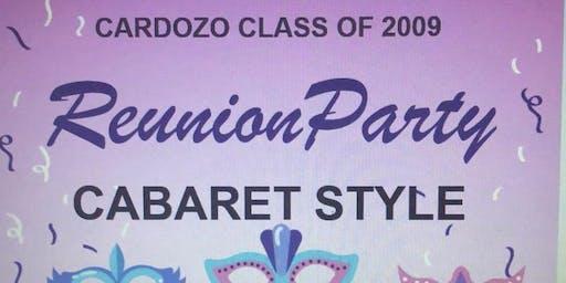 Cardozo Class of 2009 All Black Reunion!