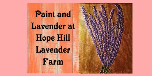 Paint and Lavender - Metallic Lavender Painting Class
