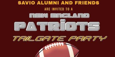 Savio Alumini & Friends Patriots tailgate party tickets