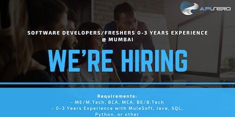 Mumbai Recruitment Drive tickets