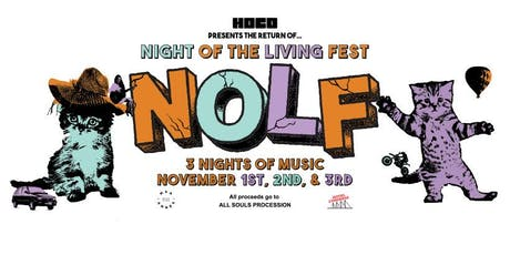 Night of the Living Fest Ticket Packages tickets