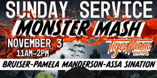 Tiger Mama Drag Brunch - Sunday Service: Monster Mash