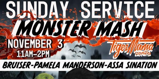 Tiger Mama Drag Brunch - Sunday Service: Monster Mash