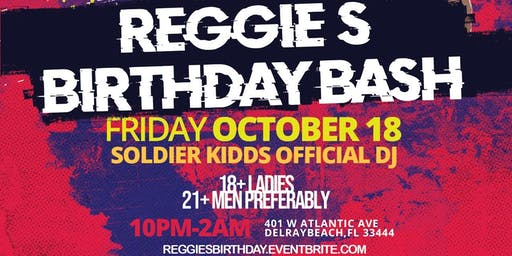 Reggie's Birthday Bash