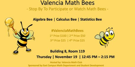 Valencia Math Bees - 11/19/19 tickets
