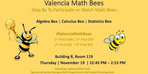 Valencia Math Bees - 11/19/19