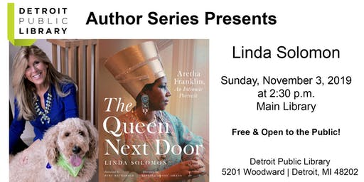 DPL Author Series Presents: Linda Solomon