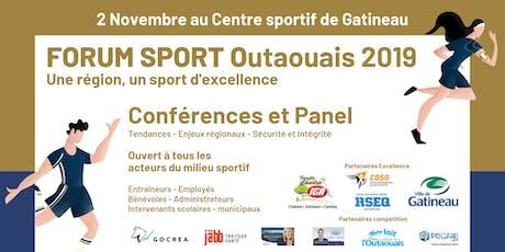 Forum Sport Outaouais 2019 tickets