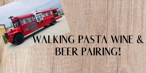 Walking Pasta Wine & Beer Pairing