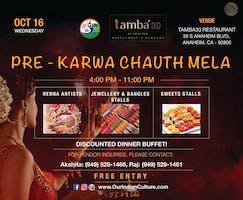 Pre Karwa Chauth Mela: Henna, Bangles, Jewelry, Sweets & Dinner