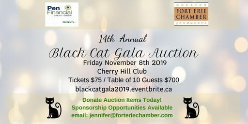 GFECC 14th Annual Black Cat Gala Auction