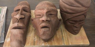 Sculpting at All Hands 11/24-12/22